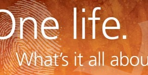 One life. What's it all about