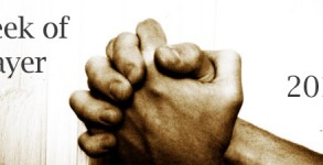 Week of Prayer 2013 - Hands clenched in Prayer